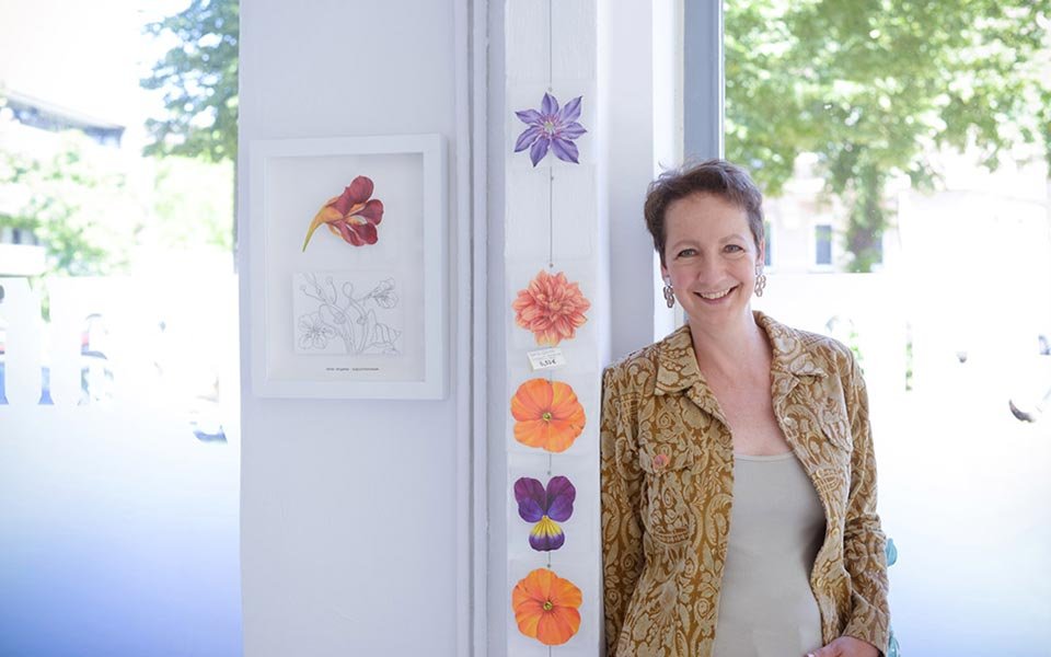 Tania Engelke im grafikatelier