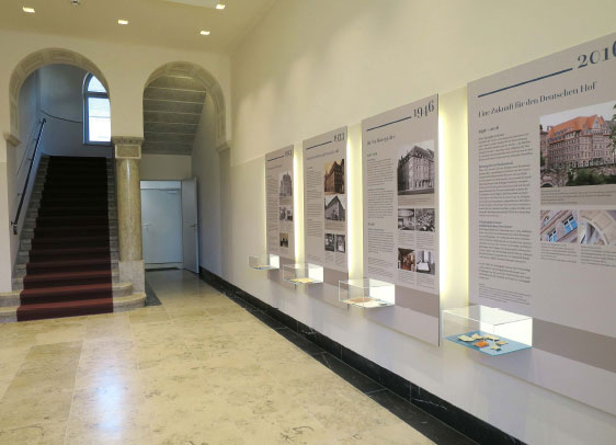 1. Deutscher Hof Eingangsbereich