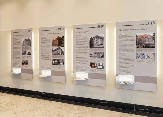 2. Deutscher Hof Eingangsbereich Ausstellung