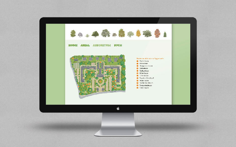 Arboretum Heppenheim Homepage