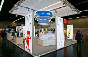 Fürst Group Messestand Design