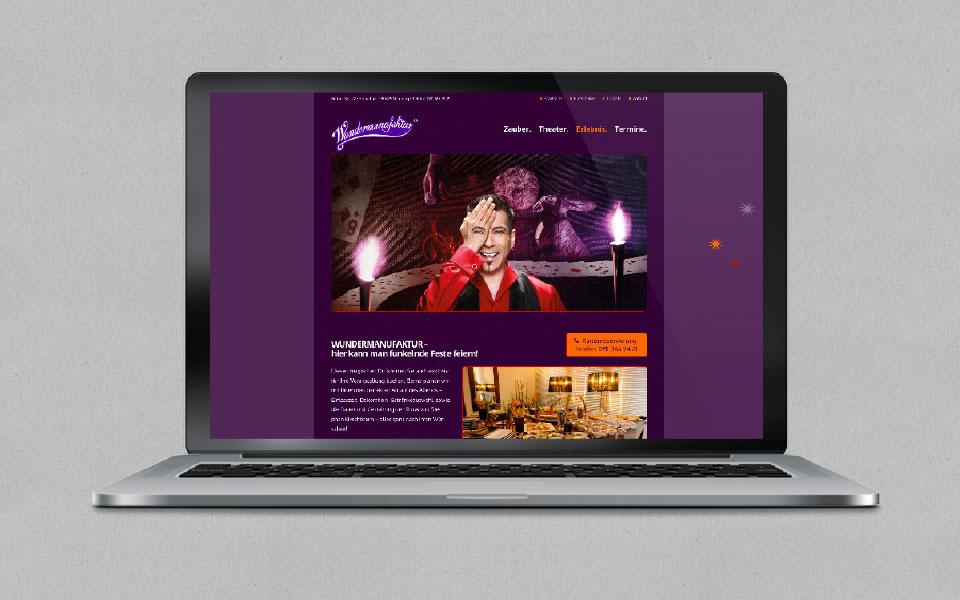 wundermanufaktur Homepage Startseite