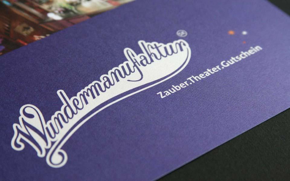 Wundermanufaktur Gutschein Umschlag