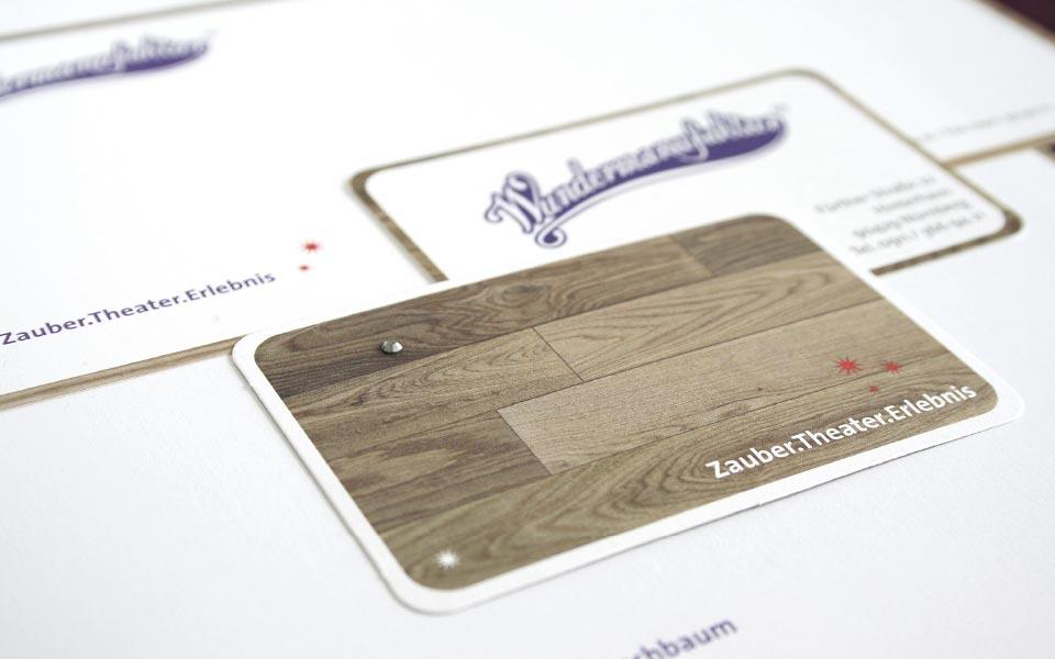 Wundermanufaktur Nürnberg Corporate Design Grafikatelier