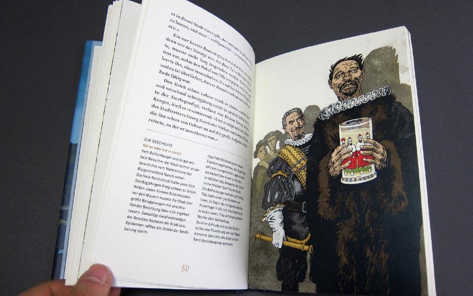 1-2 Tauberflüster Doppelseite Illustration