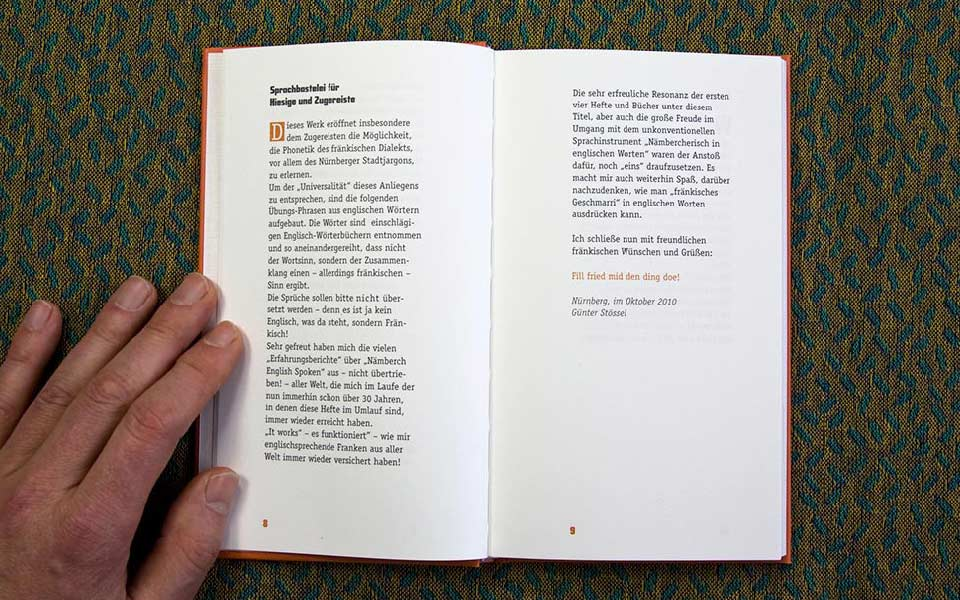 1-6 My war left Buch Typographie