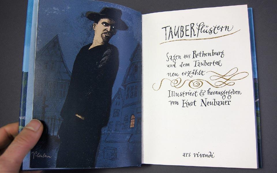 1-6 Taubergeflüster Illustration Kurt Neubauer