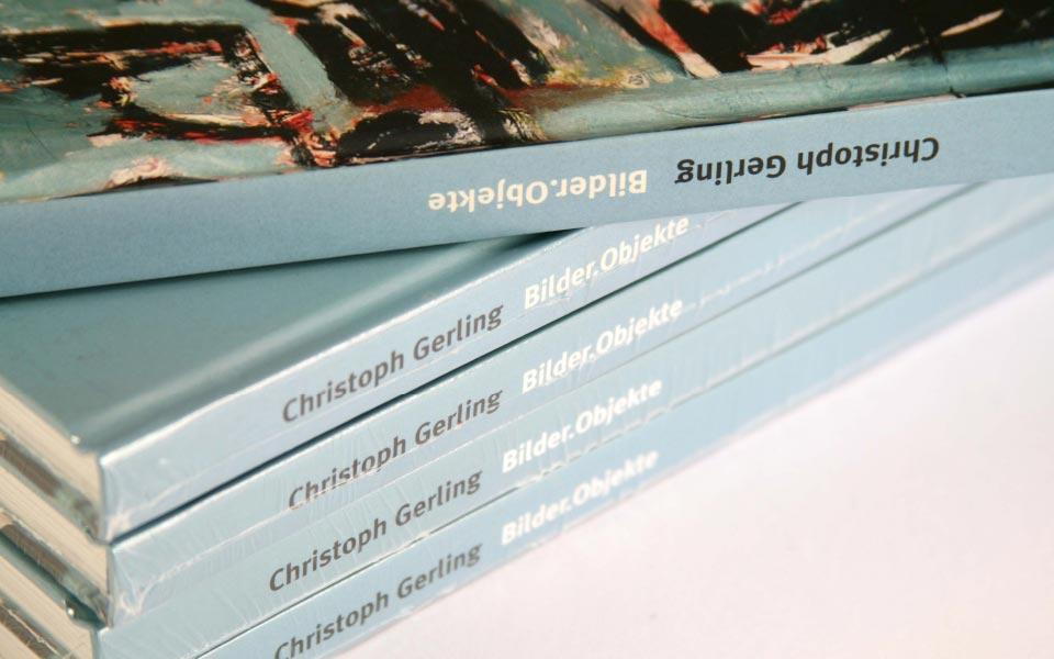 1 Christoph Gerling Bilder.Objekte Buchrücken