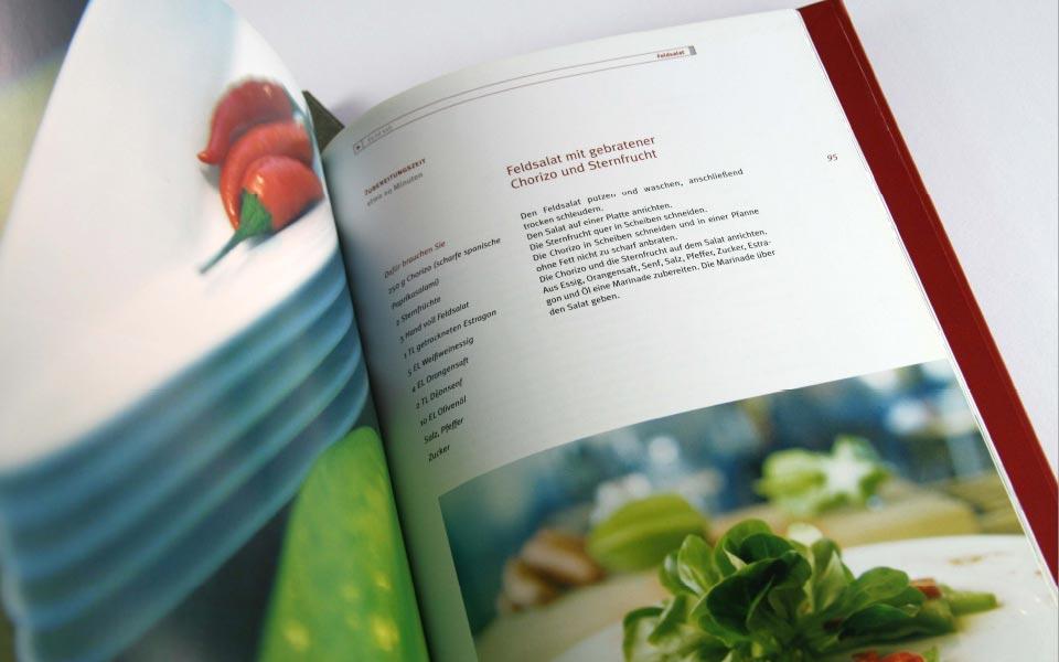 1 fein schmecken Kochbuch Inhaltsverzeichnis