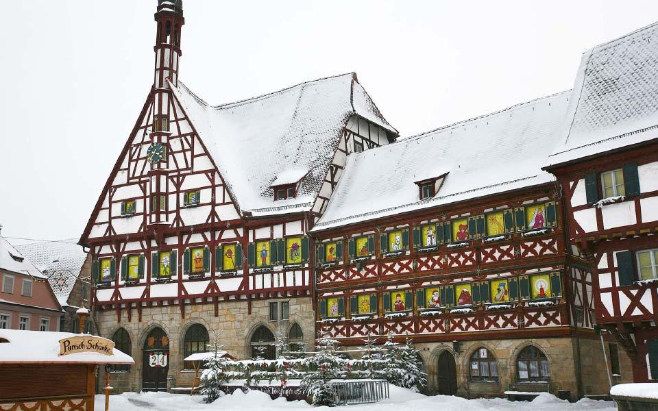 1 Stadt Forchheim Adventskalender Rathaus