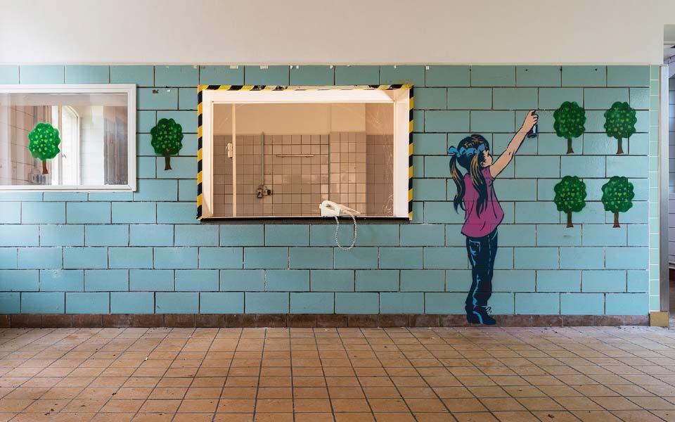 2-2 Lindenhof Schablonen Kunst