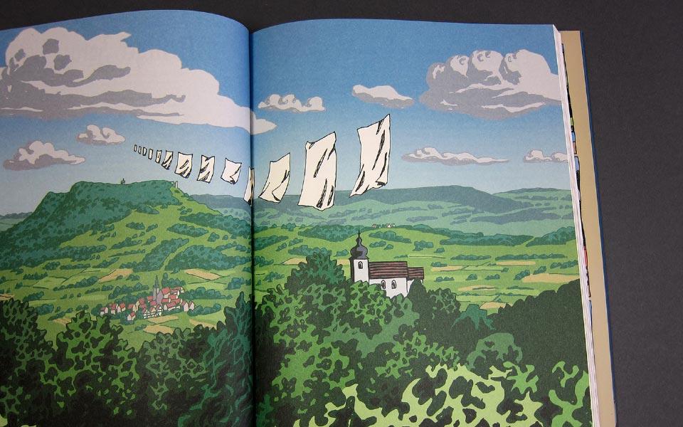 2-6 Walberla Wäscheleine Illustration