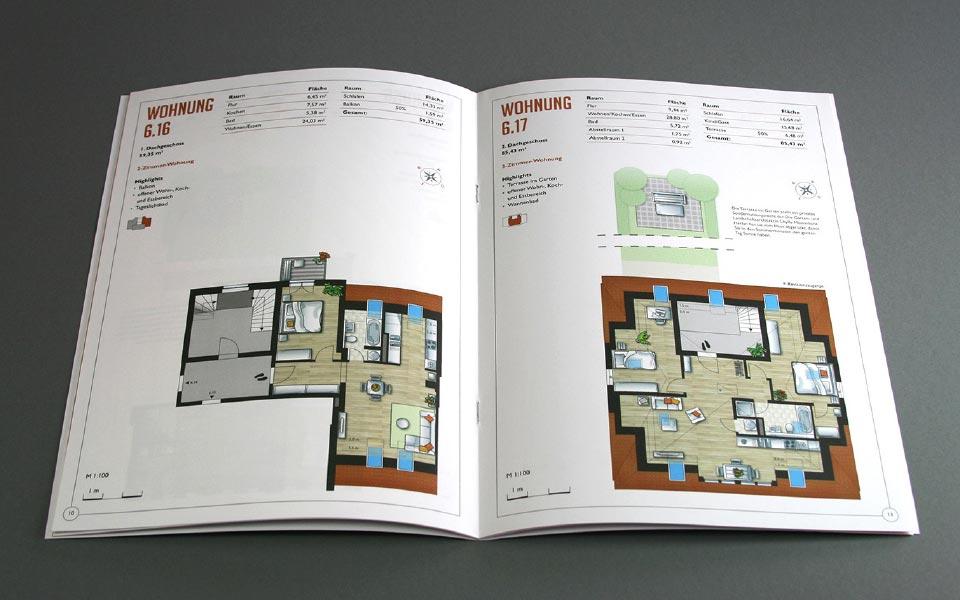 2 Am Funkerberg Detailkarten Wohnungen