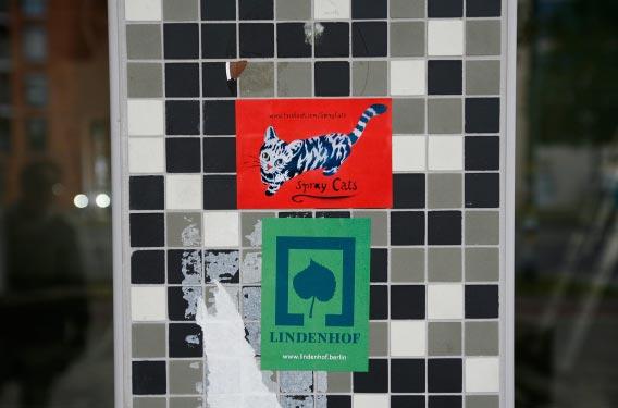 3-11 Lindenhof Mosaik Aufkleber