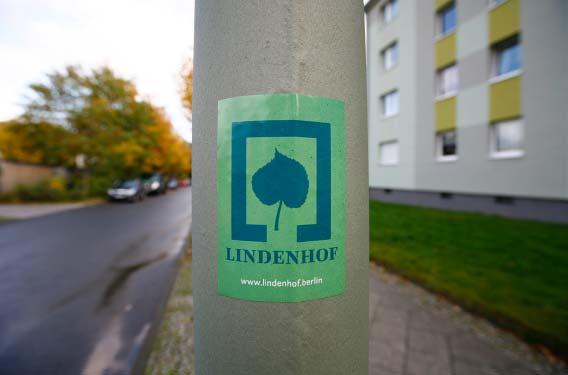 3-3 Lindenhof Logo Aufkleber