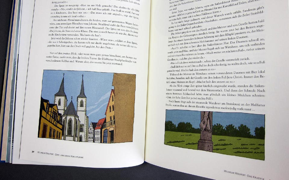3-3 Maingeister Sagenbuch Doppelseite