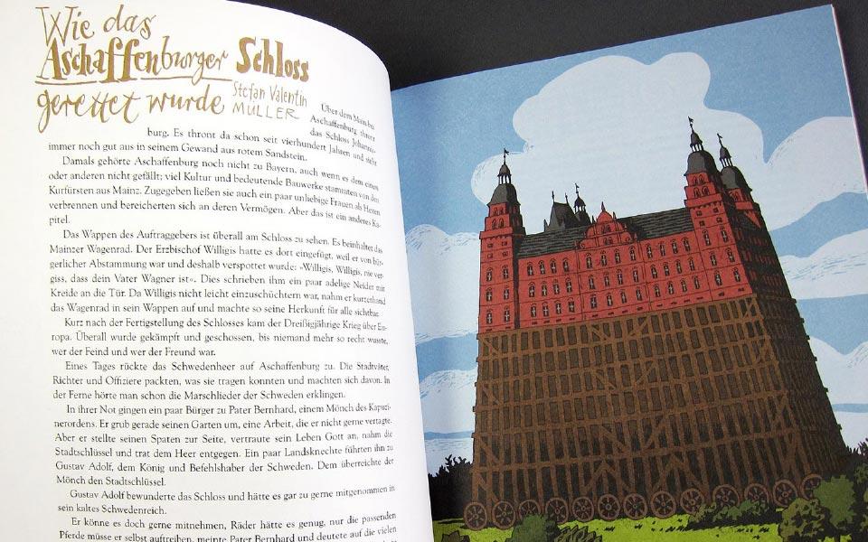 3-5 Maingeister Aschaffenburger Schloss