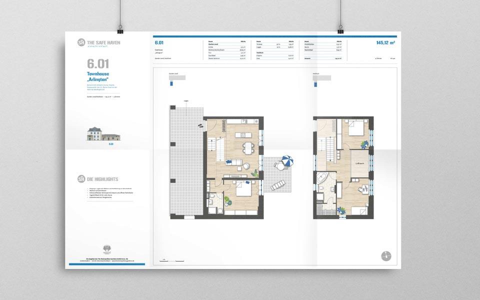 3 A1-Mappe Illustrationen Übersichtspläne