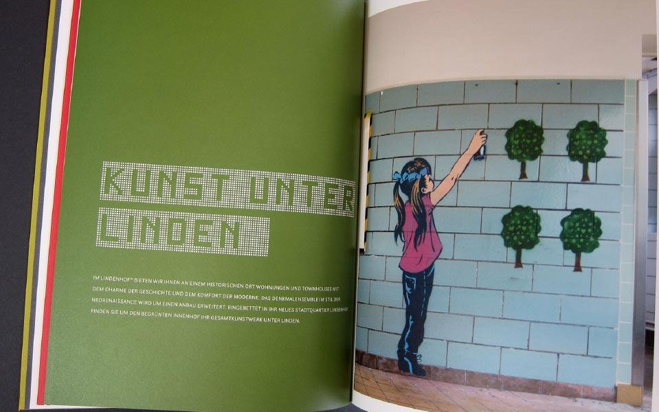 4 Lindenhof Kunst unter Linden