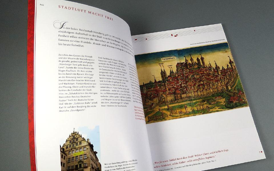 4 Opernpalais Folder Seitengestaltung