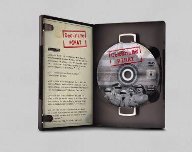 Deckname Pirat DVD Gestaltung