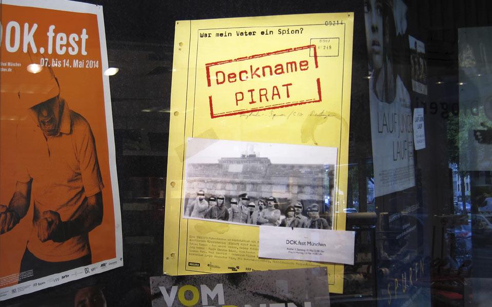 Deckname Pirat Kinoplakat