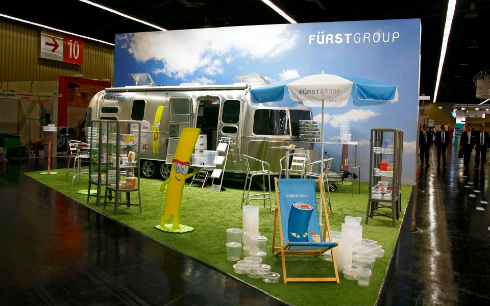 Fürstgroup Messestand Airstream