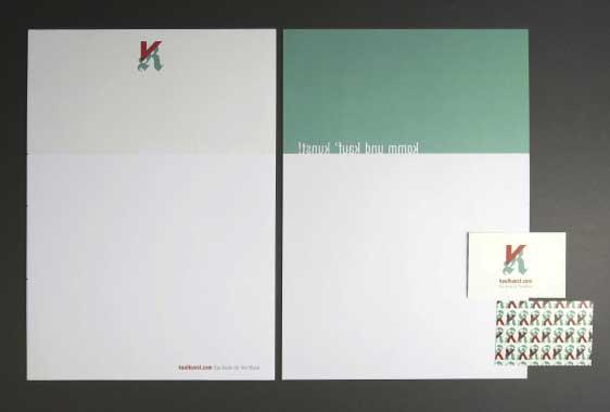 Kaufkunst Briefboegen Visitenkarten Gestaltung