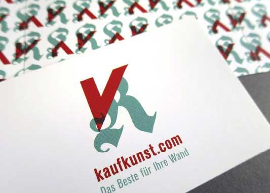 kaufkunst Logo Gestaltung