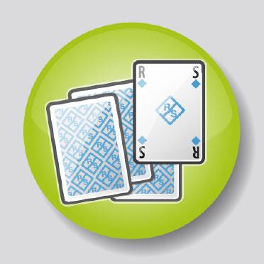 Rhode & Schwarz Spielkarten Icon