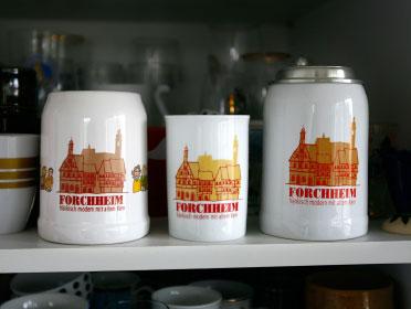 Stadt Forchheim Bierkrug Design