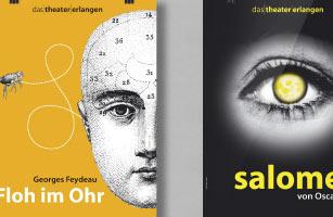 Theater-Plakate und Programmgestaltung