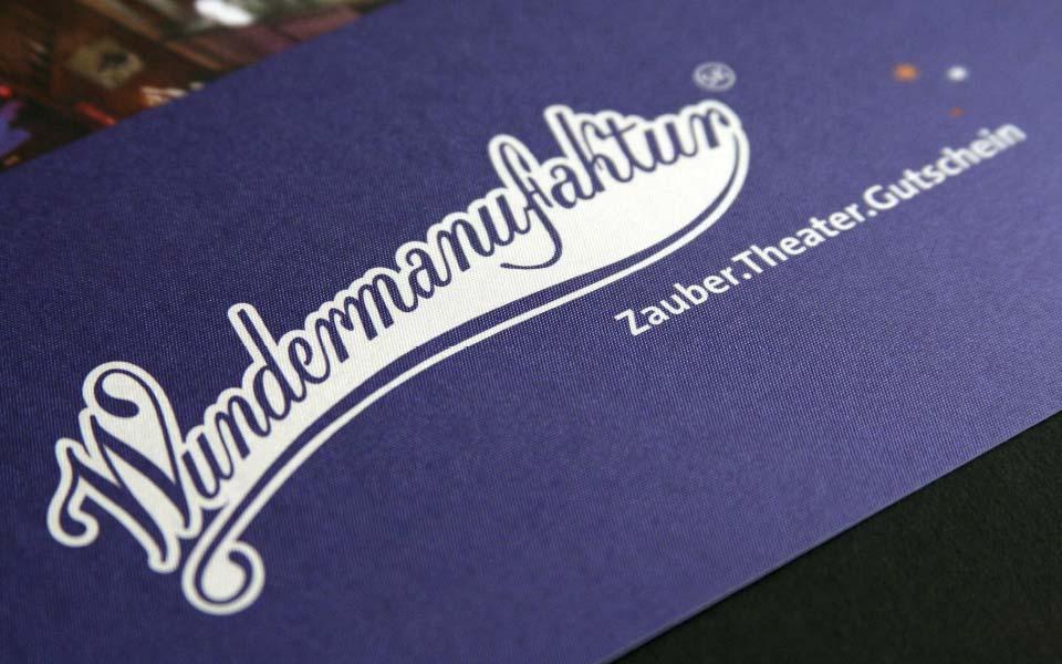 Wundermanufaktur Logo Gestaltung