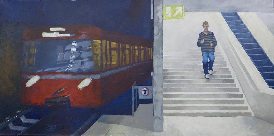 Kurt Neubauer U-Bahn Langwasser