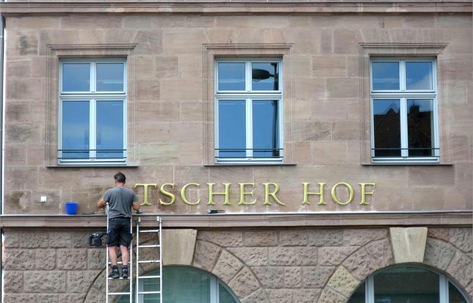 1. Deutscher Hof Außenfassade