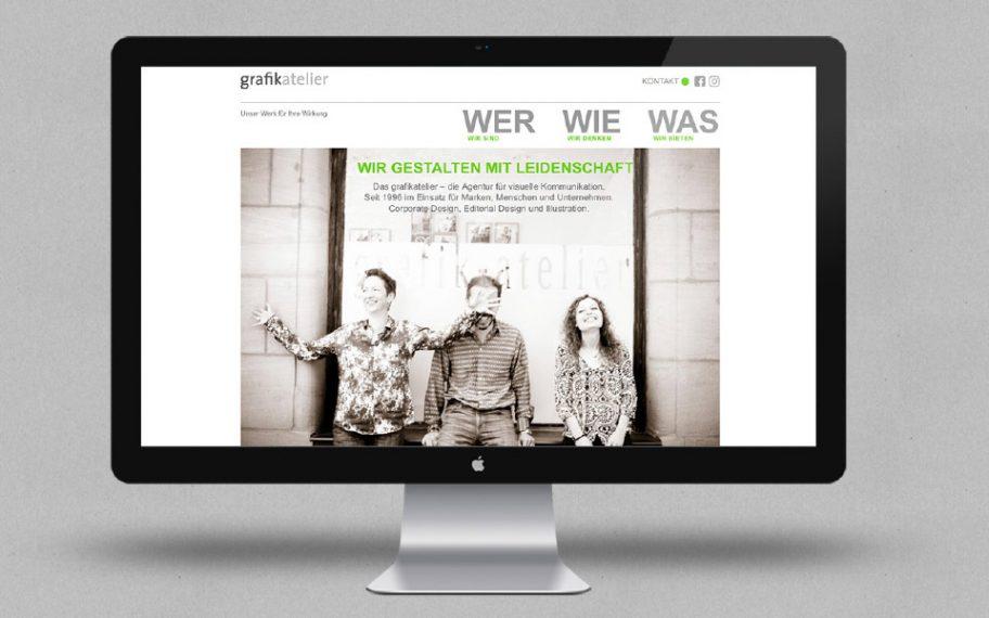 Neuer Internetauftritt vom grafikatelier Nürnberg