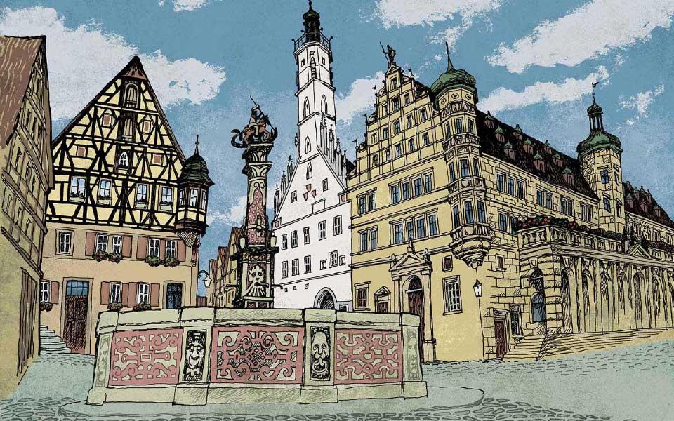 Tauberflüstern - Sagen aus Rothenburg und dem Taubertal