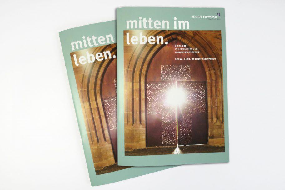 Magazingestaltung für das Dekanat Schwabach