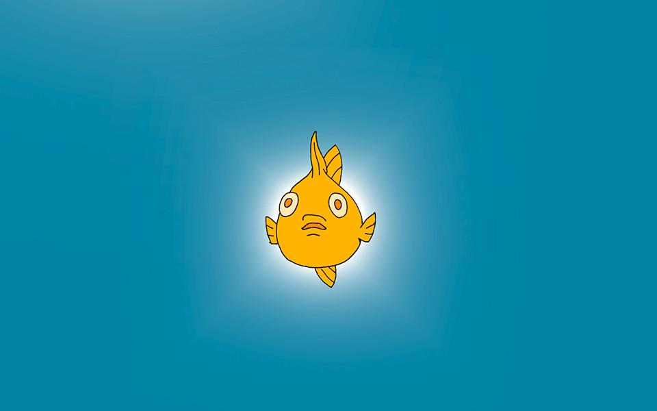 Animierte Fische werben für die evangelischen Kirchenvorstandswahlen