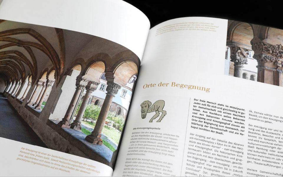 Kloster Karree – Bamberg – Broschüre – Bild 2