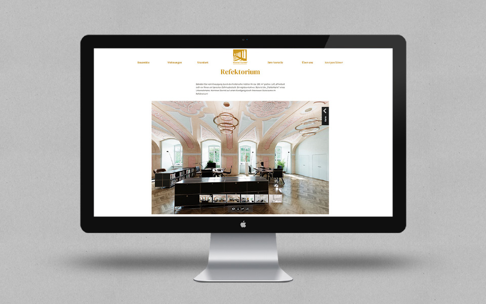 Kloster Karree – Bamberg – Internetauftritt