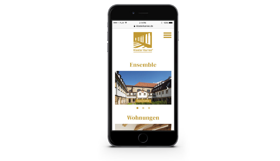 Koster Karree – Bamberg – Responsive Web