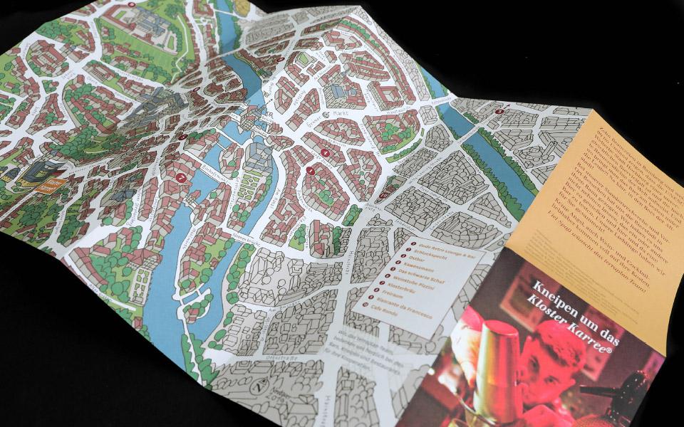 Kloster Karree – Bamberg – Stadtplan
