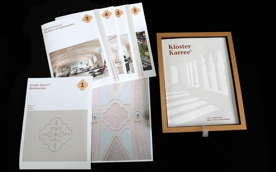 Kloster Karree – reddot winner award 2020 – Broschüre