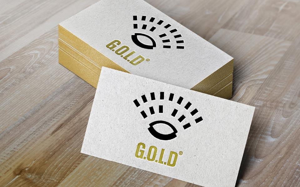 Grafikatelier GOLD Visitenkarte