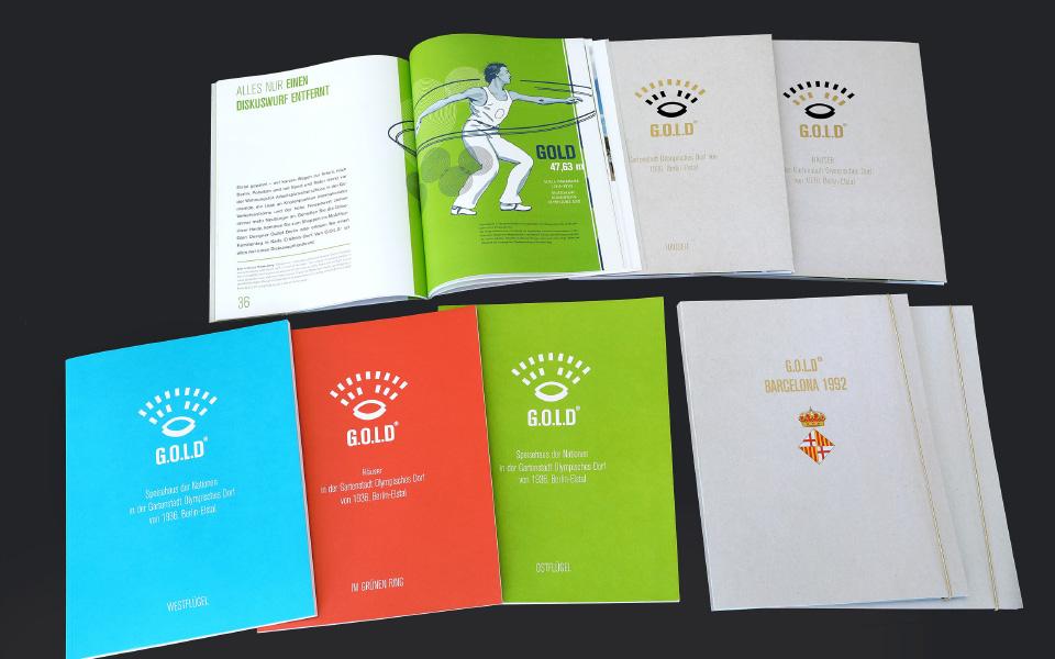 Grafikatelier – Olympisches Dorf Folder