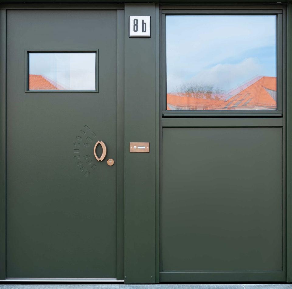 Grafikatelier - Tür 1