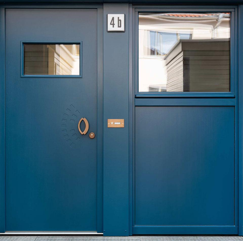 Grafikatelier - Tür 3