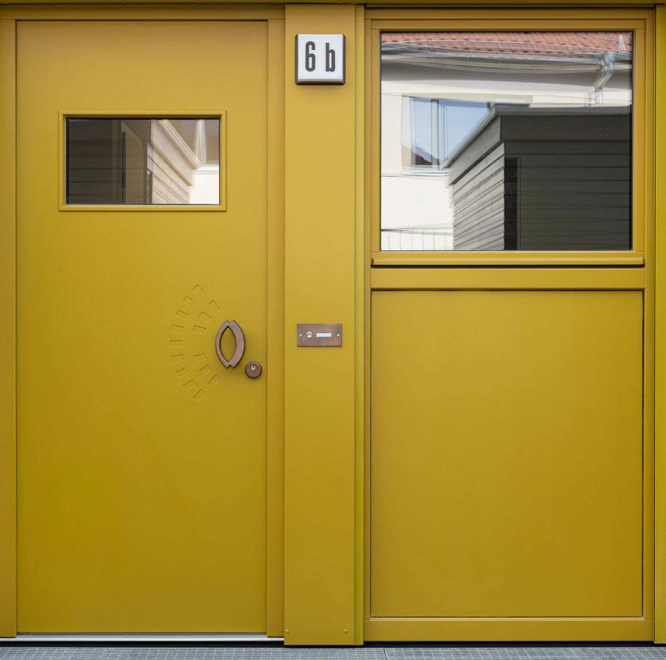 Grafikatelier - Tür 4